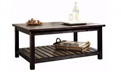 Ashley Furniture Signature Design – Mestler Coffee Table – Cocktail Height – R ...