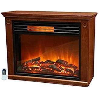 Lifesmart Large Room Infrared Quartz Fireplace In