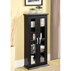 Walker Edison 41″ Media Storage Cabinet, Black