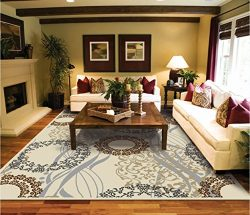 Modern Rugs For Living Room Cream Rug 5 by 8 rug luxury rugs for bedroom Area rugs 5×8 Clea ...
