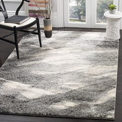 Safavieh Retro Collection RET2891-8012 Modern Abstract Grey and Ivory Area Rug (4′ x 6′)