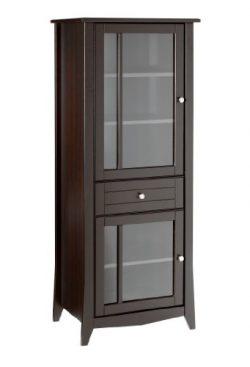 Elegance Curio Cabinet 200317 from Nexera, Espresso