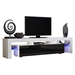 TV Stand Solo 200 Modern LED TV Cabinet / Living Room Furniture / Tv Cabinet fit for up to 90-in ...