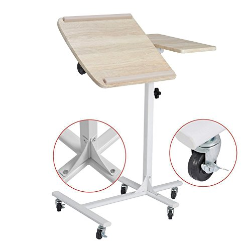Laptop Table Sofa Bedside Table Overbed Table 5 Adjustable