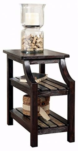 Ashley Furniture Signature Design – Mestler Chair Side End Table – Rectangular &#821 ...