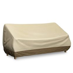 Bench Cover for Outdoor Loveseat or Patio Sofa – Fits seats up to 58 inches – Water  ...