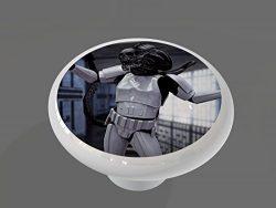 Alien Trooper High Gloss Ceramic Drawer Knob