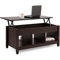 Best Choice Products Home Lift Top Coffee Table Modern Furniture W/ Hidden Compartment And Lift  ...