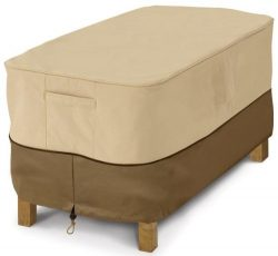 Classic Accessories Veranda Patio Coffee Table Cover – Durable and Water Resistant Outdoor ...
