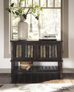 Ashley Furniture Signature Design – Mestler Console Table – Entertainment Center &#8 ...