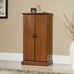 Sauder Orchard Hills Multimedia Storage Cabinet in Milled Cherry