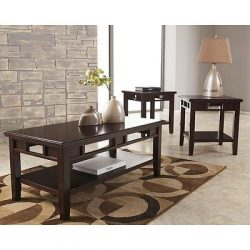 Signature Design by Ashley Logan 3 Piece Occasional Table Set – Coffee Table Set