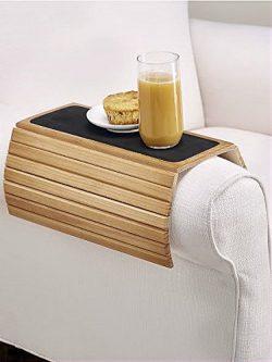 """16.5""""Wood Flexi Sofa/Arm Chair Table"""
