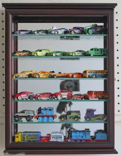 Wall Curio Cabinet Shadow Box Display Case For 1:64 Scale