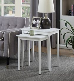 Convenience Concepts 7105076W American Heritage Nesting Endtables End Tables