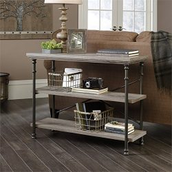 Sauder Canal Street Anywhere Console Table in Northern Oak