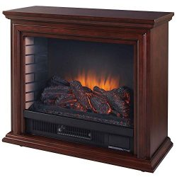 Pleasant Hearth GLF-5002-68 Sheridan Mobile Fireplace
