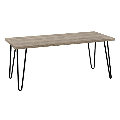 Ameriwood Home 5067496COM Owen Retro Coffee Table, Rustic Oak