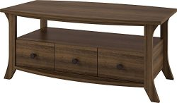 Ameriwood Home Oakridge Coffee Table, Brown Oak