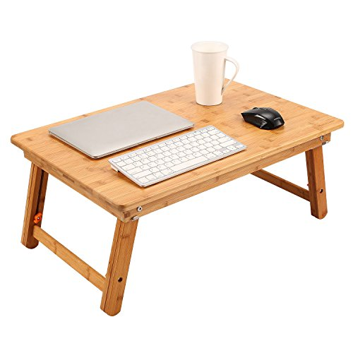 Coffee Table Converts To Tv Tray: Large Size Laptop Tray Desk NNEWVANTE Foldable Bed Table