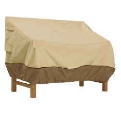 Classic Accessories Veranda Patio Bench/Loveseat/Sofa Cover – Durable and Water Resistant  ...