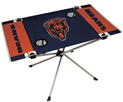 NFL Chicago Bears End Zone Table, Large/31.5″ x 20.7″ x 19″, Blue