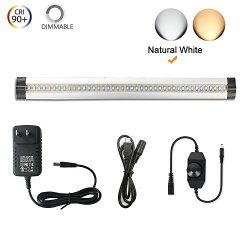 Under Cabinet Lighting – Ultra Thin, 2 Coin Thickness LED Light Plug-In, Full Range Dimmab ...