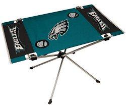 NFL Philadelphia Eagles End Zone Table, Large/31.5″ x 20.7″ x 19″, Green