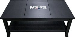 Imperial Officially Licensed NFL Furniture: Hardwood Coffee Table, New England Patriots