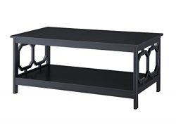 Convenience Concepts Omega Coffee Table, Black