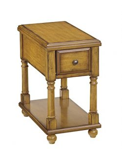 Ashley Furniture Signature Design – Breegin Chairside End Table – 1 Drawer – C ...