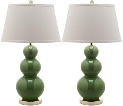 Safavieh Pamela Triple Gourd Lamp, Set of 2