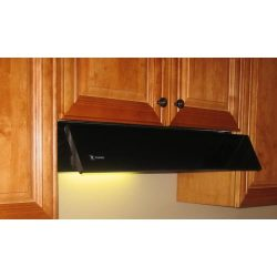 Faber Integrated Collection Agio AGIO24BK 24″ Tilt-Out Under-Cabinet Hood With 230 CFM Int ...