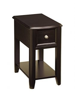 Ashley Furniture Signature Design – Breegin Chair Side End Table – Contemporary Styl ...
