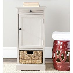 Safavieh Home Collection Raven Vintage Grey Tall Storage Unit