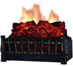 Comfort Glow ELCG251 Electric Log Insert, Heater & Firebox Projection 5,120 BTUs