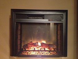 RV ELECTRIC FIREPLACE 26″ WITH REMOTE AND RADIUS FRONT