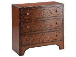 Stein World Furniture Evanston Three-Drawer Accent Chest, Brown