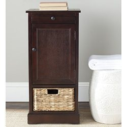 Safavieh Home Collection Raven Dark Cherry Tall Storage Unit