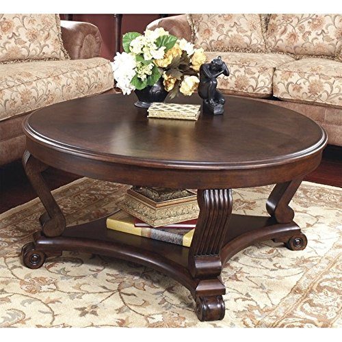 Round Coffee Table Measurements: Ashley Furniture Signature Design