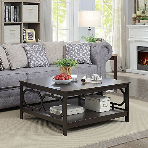 Convenience Concepts Omega Square Coffee Table 36 Inch