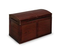 Badger Basket Barrel Top Toy Box, Cherry