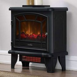 Duraflame Infrared Quartz Electric Stove Heater, Black – DFI-550-36