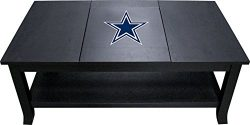 Imperial Officially Licensed NFL Furniture: Hardwood Coffee Table, Dallas Cowboys