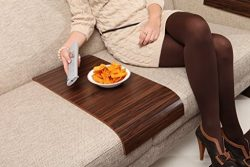 Sofa Tray Table – Long ( Brazilian Walnut ), Sofa Arm Tray, Armrest Tray, Sofa Arm Table,  ...