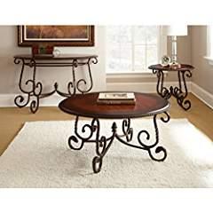 Steve Silver Company Crowley Sofa Table, 48″ x 20″ x 30″