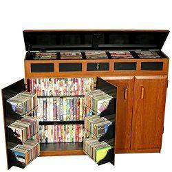 Venture Horizon Top Load Media Cabinet- Cherry