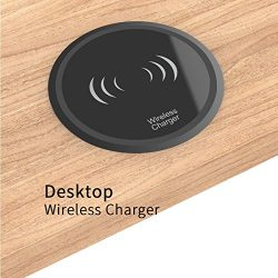 Desk Grommet Wireless Charging Pad Hub Tap Grommet Power Cord Grommet Easy Plug with Cable Manag ...