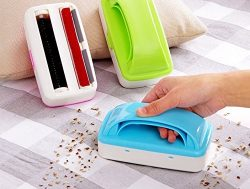 Pinovk Hand Maid Crumb Sweeper Cleaner Roller Dirt Catcher Brush Car Table Furniture Color( Random)