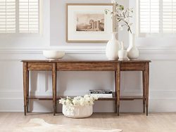 "Hooker Furniture Skinny Medium Wood 76""L x 14""W Rectangular Console Table"